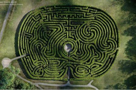 英にある数々のラビリンス、樹木で作られた各地の迷路が楽しそう