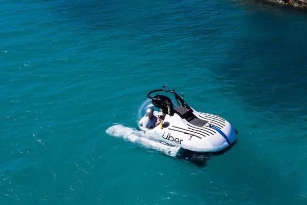配車の次はサブマリン!「Uber」が斬新すぎる世界初の潜水艇サービスを開始