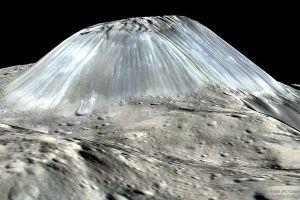 人類が見たこともない氷の山?NASAが小惑星にある山のイメージ画像を公開