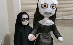 3歳の少女がユニークな誕生パーティーを開催、テーマはなんと『死霊館のシスター』