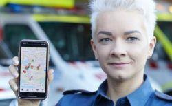 近くの人が駆けつけて救命措置、心臓発作などで倒れた人を救うアプリがすごい