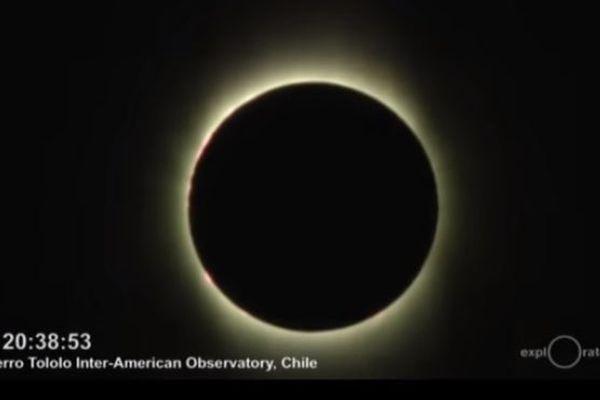 南米のチリやアルゼンチンで皆既日食が観測される、NASAも動画を公開