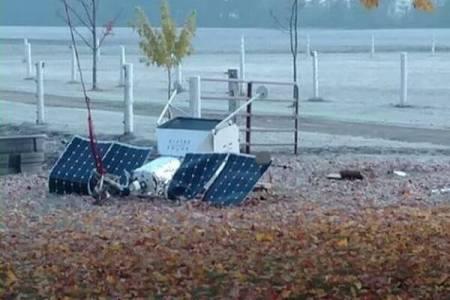 サムスン電子の小型衛星が落下、成層圏からの自撮りサービスも中止へ