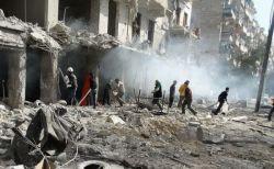 シリアの休戦地域をロシアと政府軍が空爆、18人の市民が死亡