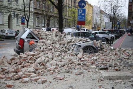 クロアチアの首都でM5.3の地震が発生、新型コロナへの対処にも迫られる