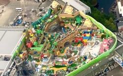 大阪の「スーパーニンテンドーワールド」、オープン前の秘密空撮画像がネットに出回っている