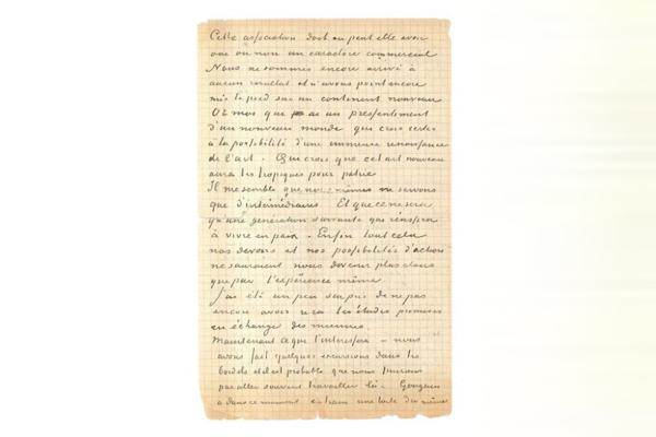 ゴッホとゴーギャンの売春宿通いを綴った手紙がオークションに