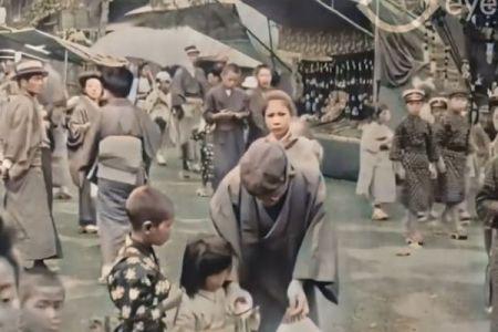 大正時代の映像がAIにより4Kのカラーで蘇る、人々の表情をいきいきと映し出す