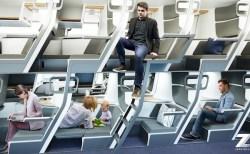 足を伸ばして横になれる、エコノミークラスの新座席が登場