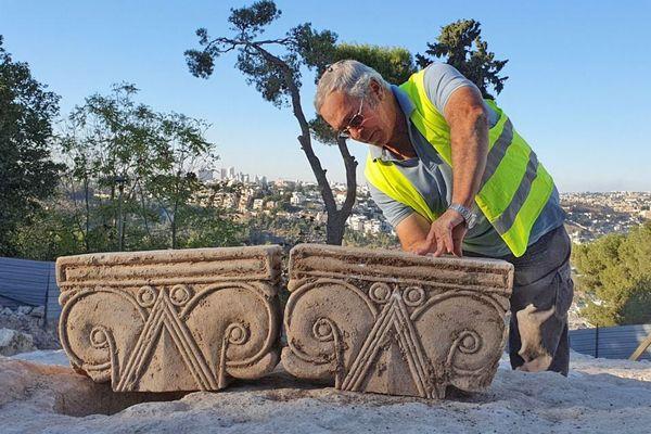エルサレムで約2500年前の宮殿の跡を発見、王家の建物か?