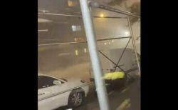 ニューヨークの街を暴風が襲う、猛烈な風が通りを吹き抜けていく【動画】