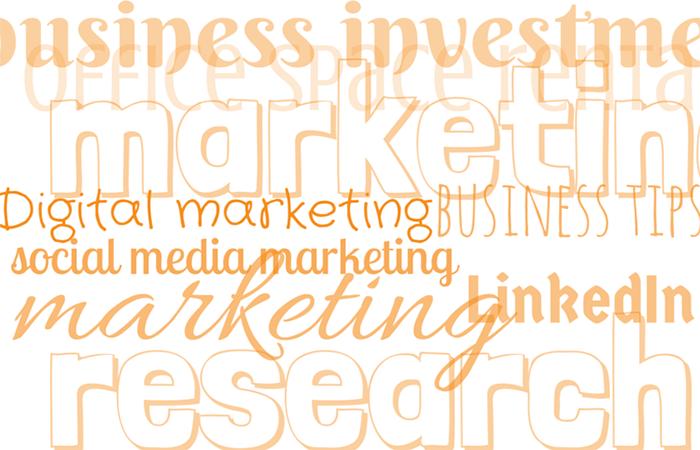 SEO cloud of keywords Digital marketing