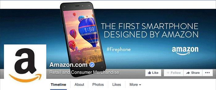 Facebook Page Amazon