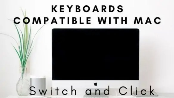 keyboards compatible with mac on the switch and click