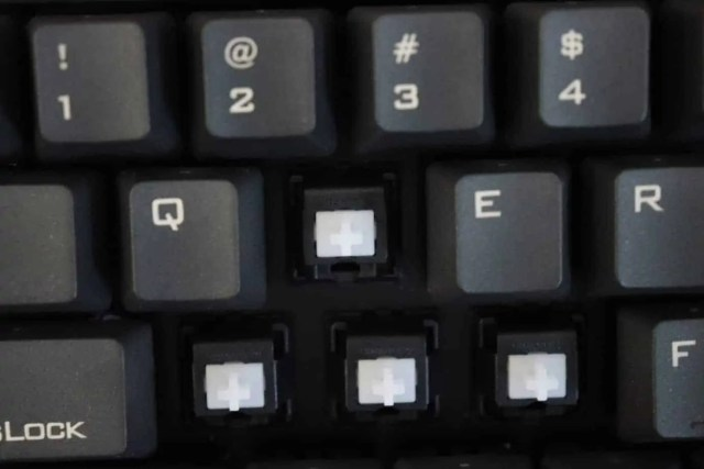 switches on mechanical keyboard