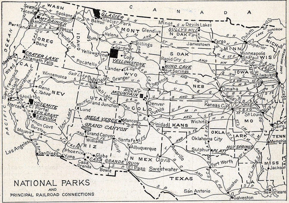 NATIONAL PARKS 201: NPS history, visitor boom, the $$ trail and more