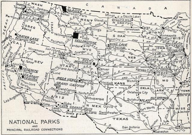 National Park portfolio in 1916
