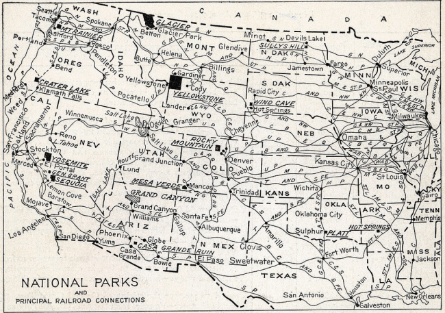 National Park portfolio in 1916