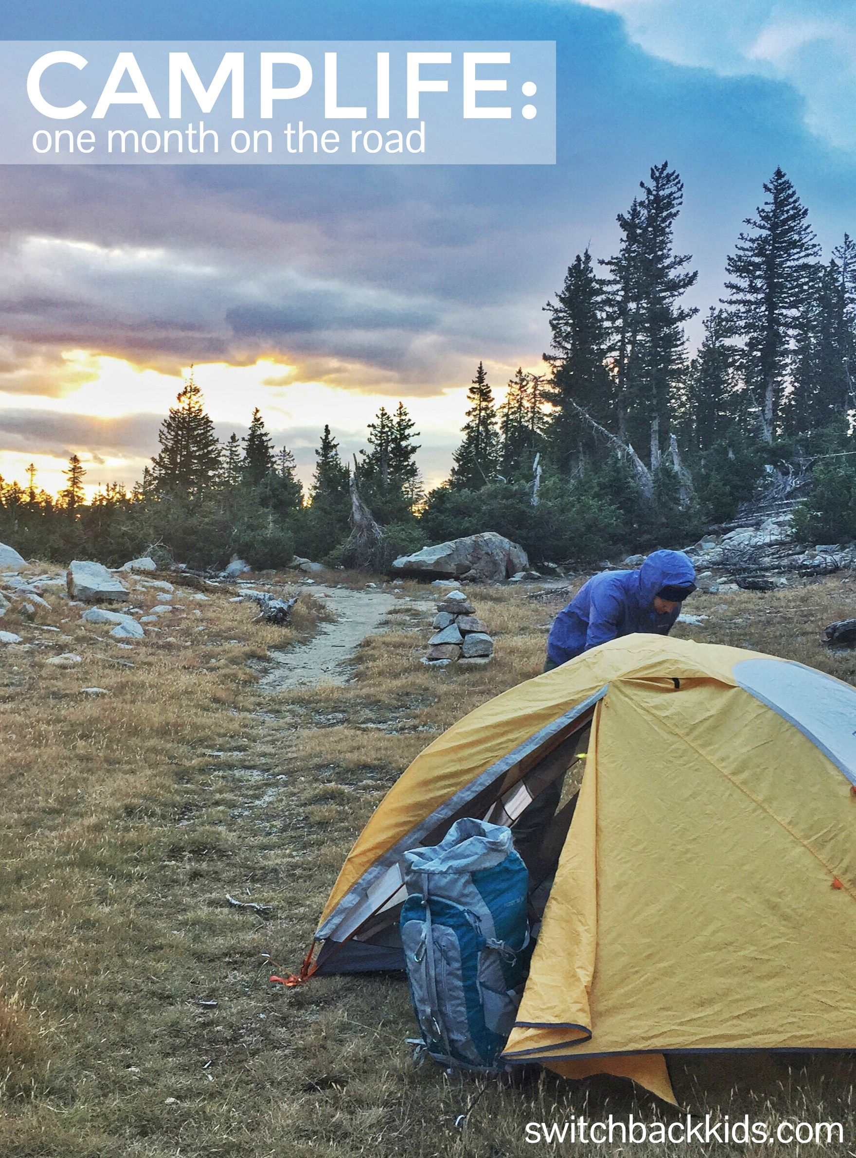 CAMPLIFE: One Month on the Road