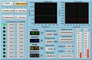 Power meter readings - iPhone fast charging