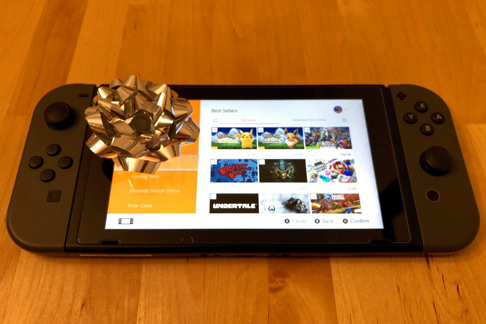 Setup the Nintendo Switch for Christmas Morning
