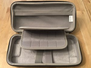 Inateck Carrying Case interior.