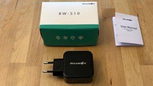 Top: BlitzWolf BW-S10 30W USB PD. Bottom: BlitzWolf BW-PL4 45W USB PD.
