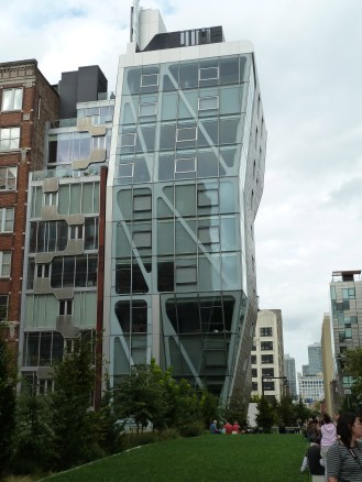 buildings of the high line, New York City