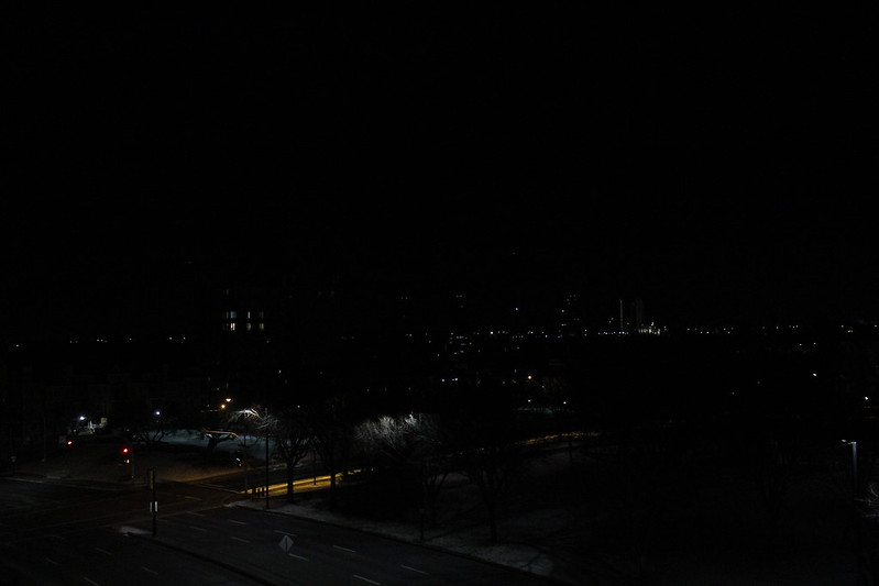 City Scape Shot of Edmonton At Night Taken by Dylanna Fisher