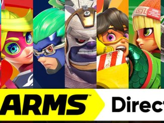 arms characters for nintendo direct