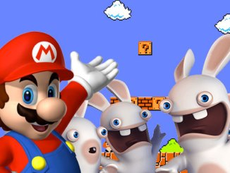 mario with rabbids