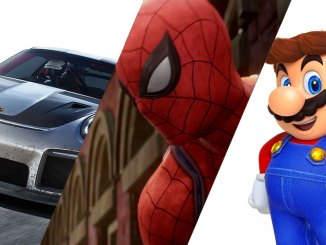 forza car spider-man and mario