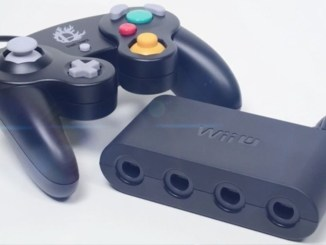 gamecube controller with wii u gamecube adapter