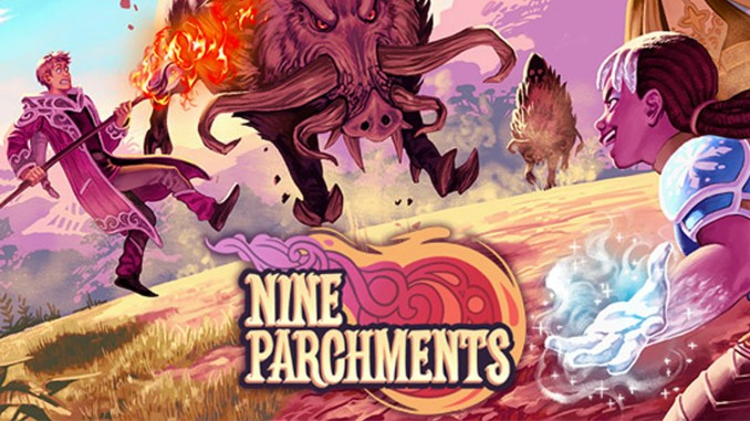 nine parchments art