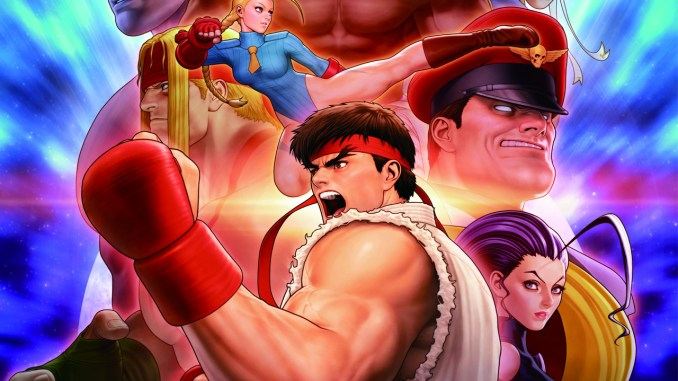 street fighter 30th anniversary collection key art