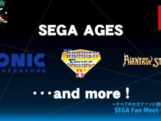 sega ages and game logos