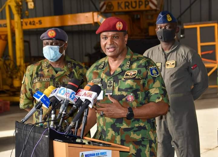 Air Force Boss Inspects Ongoing Projects In Kainji, Expresses Satisfaction With Progress Of Alpha Jet PDM