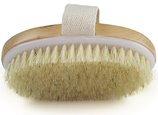 Dry brushing for the skin
