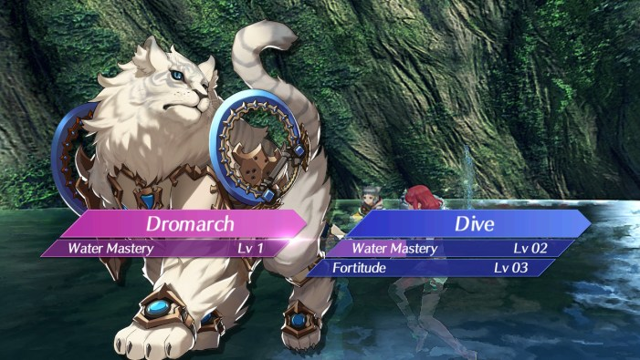 Using a field skill in Xenoblade Chronicles 2