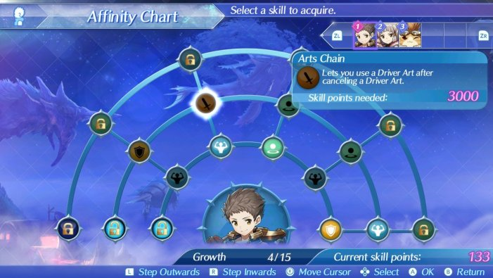 Arts Chain Xenoblade Chronicles 2
