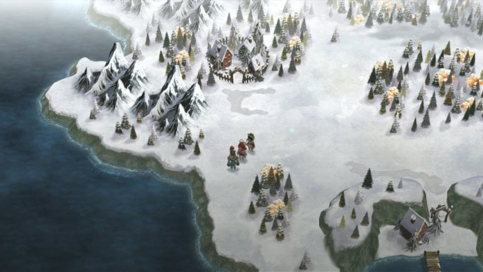 I am Setsuna's World Map
