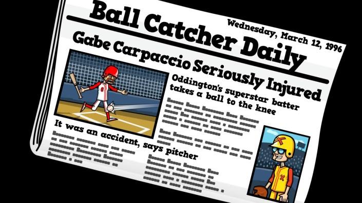 Baseball Riot Newspaper