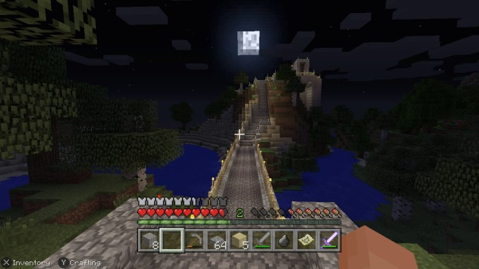 Minecraft Road