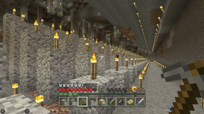 Underground Candle Spires