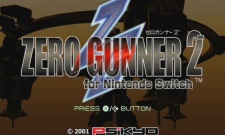 Zero Gunner 2 Nintendo Switch Review