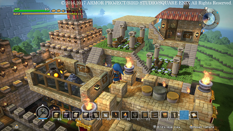 Dragon quest builders on switch