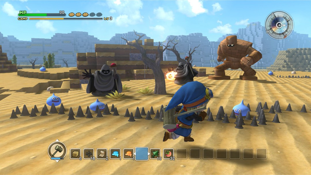 Dragon Quest Builders Desert