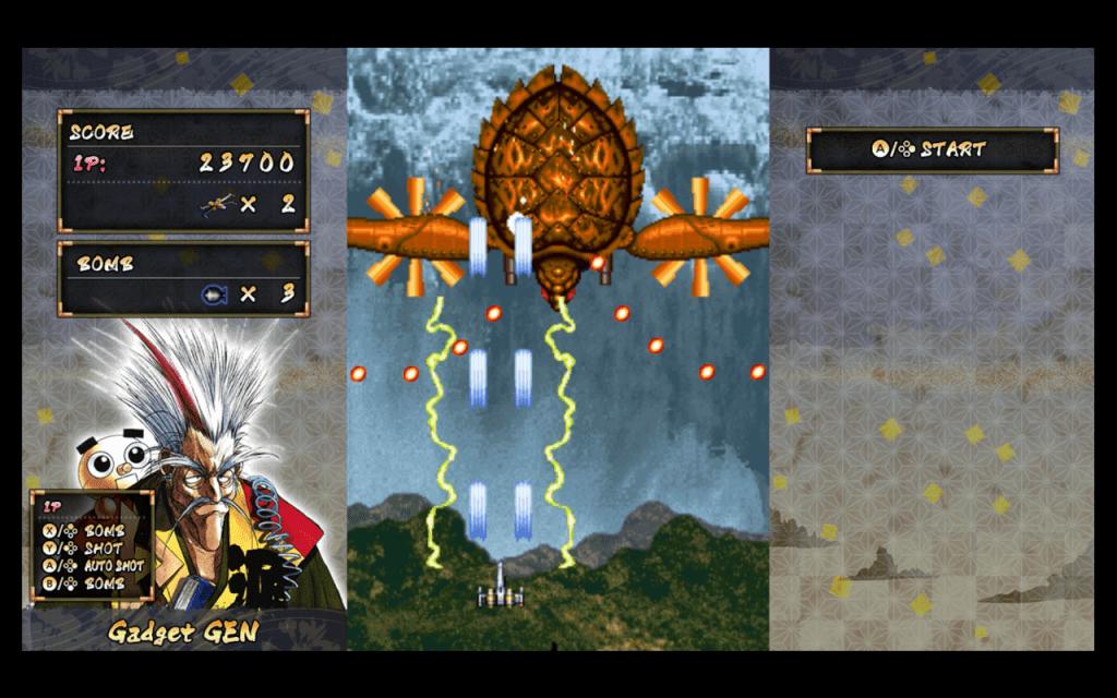 Samurai Aces on Nintendo Switch screen shot 1