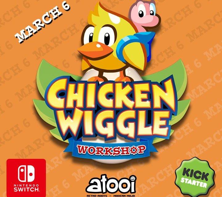 Kickstarter date set for Chicken Wiggle Workshop