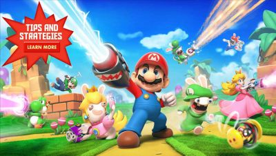 3) Mario+Rabbids Kingdom Battle